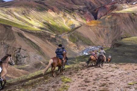 Multi-day riding tours