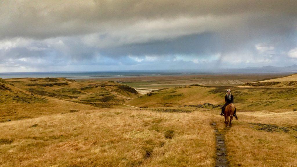 Horseback riding Eyjafjalla tour
